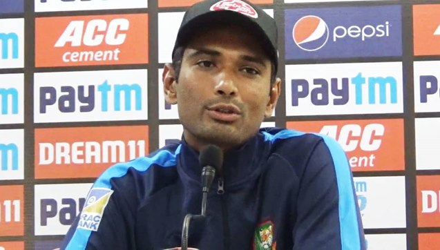 ভারতের বিপক্ষে অগোছালো টাইগার দল নিয়ে কথা বললেন : মাহমুদুল্লাহ