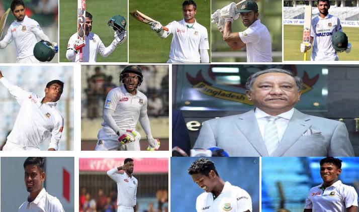 ওয়েস্ট ইন্ডিজের বিপক্ষে ওয়ানডে সিরিজ শুরু আগেই শক্তিশালী টেস্ট দল ঘোষণা করলো বিসিবি