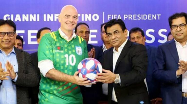 বাংলাদেশ ফুটবল দলকে বিশেষ বার্তা পাঠালো ফিফা