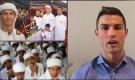 যুদ্ধ-বিধ্বস্ত মুসলমানদের ইফতারের জন্য ১২শ কোটি টাকা দিলেন রোনালদো